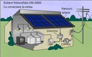 Sisteme fotovoltaice cu conectare la retea ON-GRID